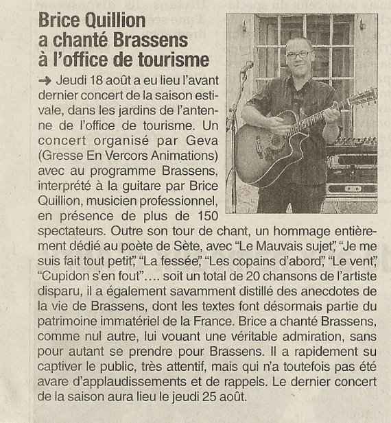 Journal 20160820 (concert Brice Quillion)