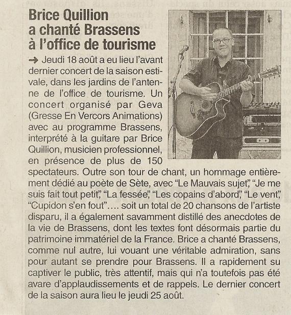 Journal 20160820 (concert Brice Quillion)